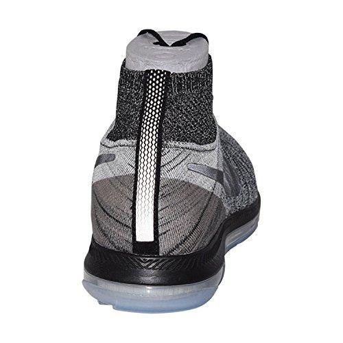 Nike Frauen Zoom All Out Flyknit Laufschuhe Schwarzgrau