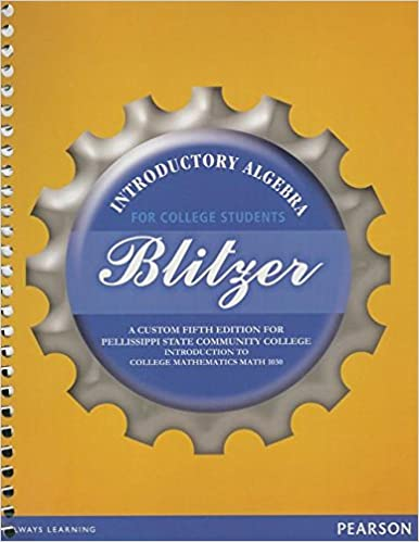 Amazon introductory algebra for college students a custom introductory algebra for college students a custom fifth edition for pellissippi state community college introduction to college mathematics math 1030 5th fandeluxe Images