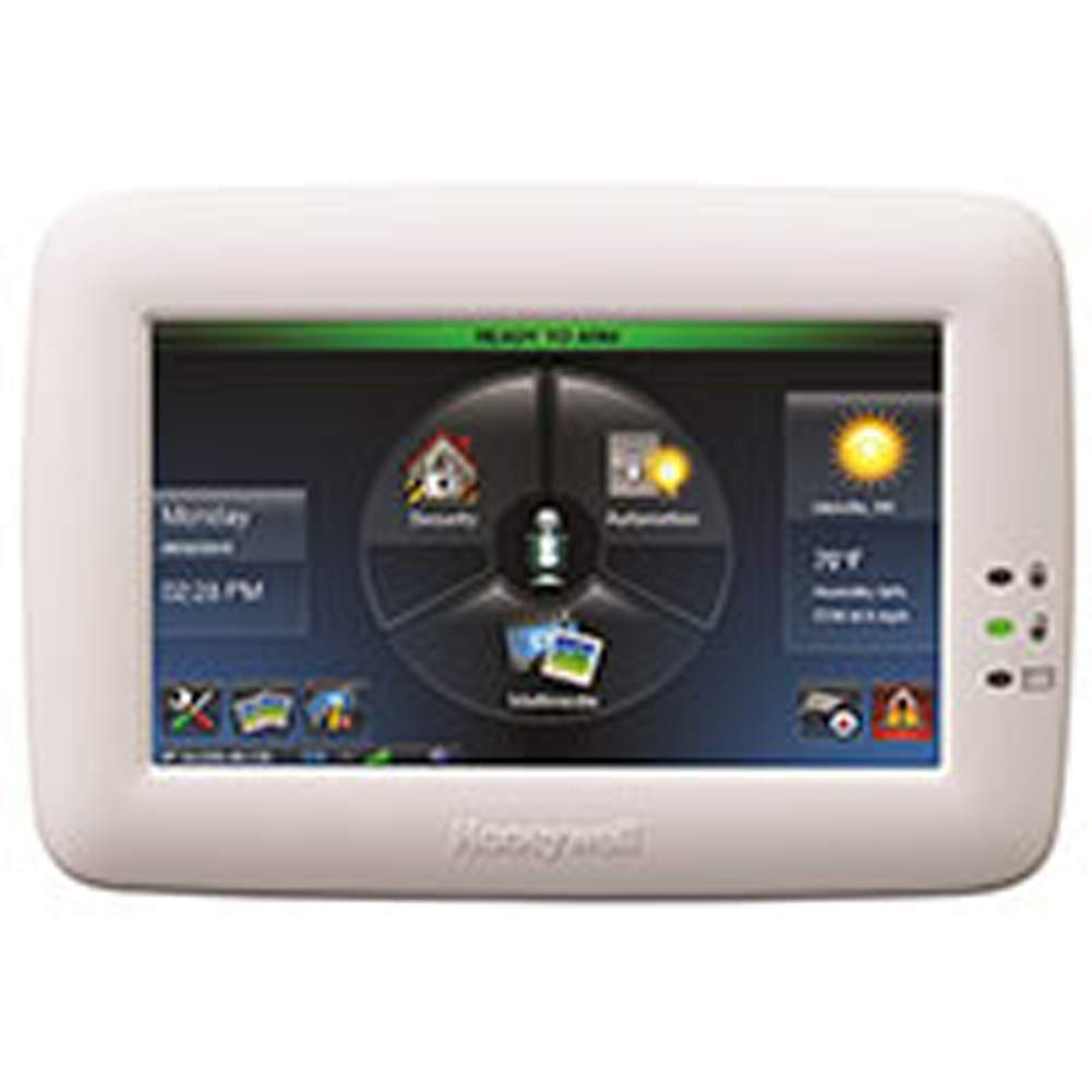 "Honeywell Ademco TUXWIFIW Tuxedo Touch Controller w/ Wi-Fi, White (6280i) 7"" Screen"