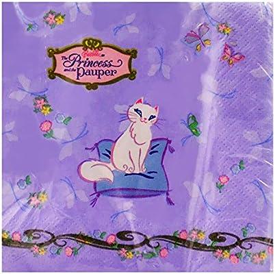 Barbie 'Princess and The Pauper' Small Napkins (16ct)
