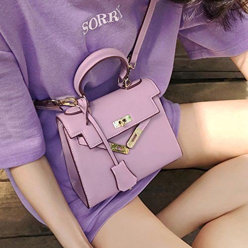 Blue Bag Bag Fairy Single GAOQQ Bag Retro Crossbody Simple Purple Color Mini Fashional Pure Shoulder wTZqp4O