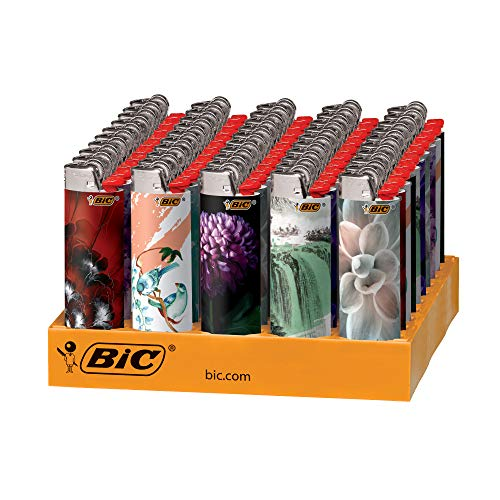 Bic Lighters Wholesale - BIC Special Edition Fashion Series Lighters, 50-Count Tray