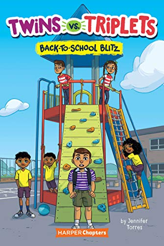 Book Cover: Twins vs. Triplets #1: Back-to-School Blitz