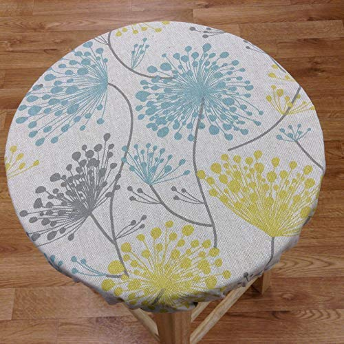 Round bar stool cover for seats 12