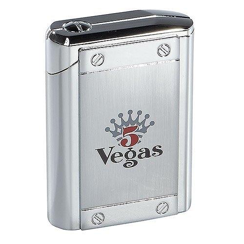 Colibri Uber Premium Butane Cigar Torch Lighter Triple Flame Large Table-top Solid Metal (5 Vegas) by - Vegas Store International Las