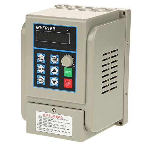 VFD 220v 2.2kw,VFD Inverter Single to 3 Phase,AC 220V Single-phase Variable Frequency Drive VFD Speed Controller for 3-phase 2.2kW AC Motor