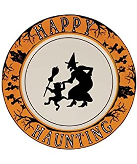 bethany lowe halloween happy hunting dinner plate - Halloween Ceramic Plates
