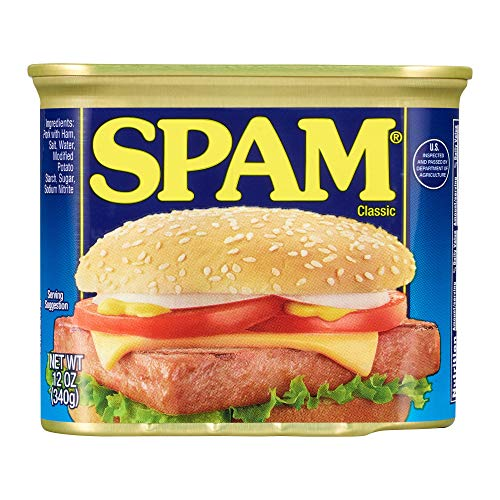 Spam Classic, 12 Ounce Can (Sliced Lunch Meats)