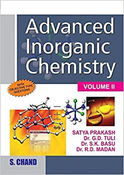 Advanced Inorganic Chemistry (Volume - II) 18th Edition price comparison at Flipkart, Amazon, Crossword, Uread, Bookadda, Landmark, Homeshop18