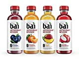 Bai Flavored Water, Rainforest Variety Pack, Antioxidant Infused Drinks, 18 Fluid Ounce Bottles, 12 count, 3 each of Brasilia Blueberry, Costa Rica Clementine, Malawi Mango, Sumatra Dragonfruit Larger Image