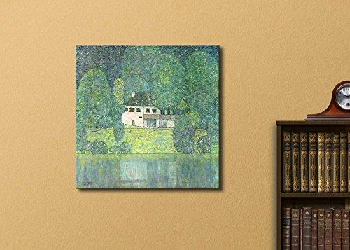House Near a River by Gustav Klimt Austrian Symbolist Painter