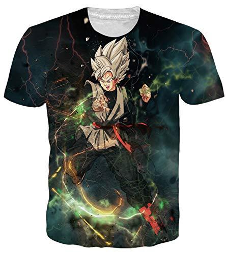 OPCOLV Dragon Ball Z Gohan T-Shirt Men Women 3D Anime Graphic Tees Super Saiyan Clothes Tops