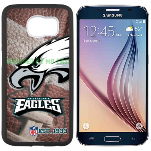 (Eagles Phladelphia Football New Black Samsung Galaxy S6 Edge Plus Case by Mr Case)