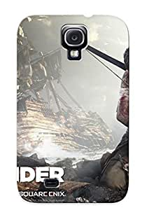 Hot Tomb Raider Game First Grade Tpu Phone Case For Galaxy S4 Case Cover wangjiang maoyi