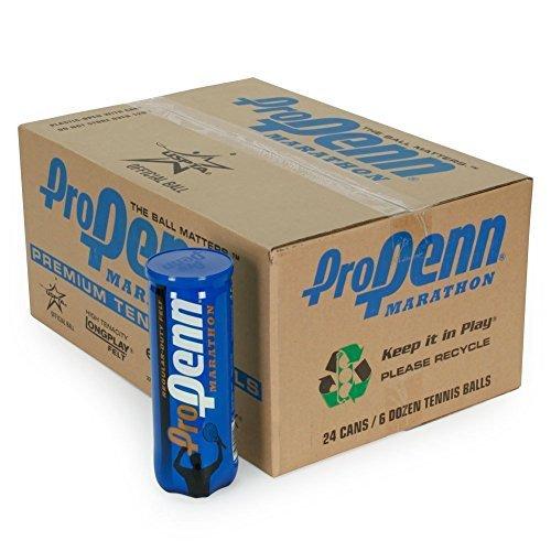 Pro Penn Marathon Regular Duty Tennis Balls (1-Case) by (Pro Penn Regular Balls)
