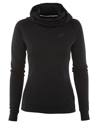 7fba6fe7b515 Amazon.com  NIKE Sportswear Tech Fleece Women s Pullover Hoodie ...