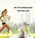VESONNY Elastic No Tie Shoelaces - Reflective Shoe