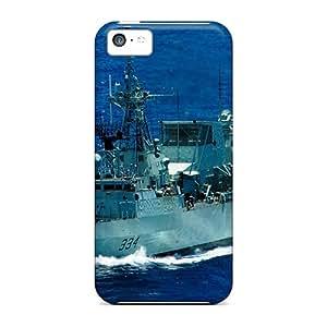 For Iphone 5c Fashion Design Frigate Hmcs Regina Cases-Ecp27555pbeL