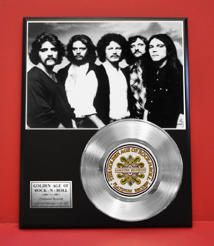 Eagles LTD Edition Platinum Record Display - Award Quality Plaque - Music Memorabilia - from Gold Record Outlet