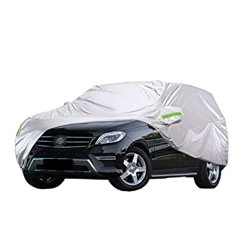 Color : Red Full Car Covers Covers Car Cover Compatible with Mercedes-Benz ML430 Car Cover/Car Paint Protection/Exterior Covers/Auto Covers for Cars/Car Sun Cover