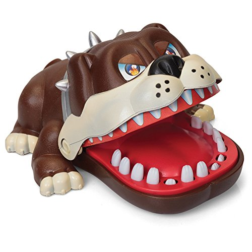 Luck Dog Bulldog Dentist Game for kids (Dog More Fun Than Crocodile) (Alligator Bite)