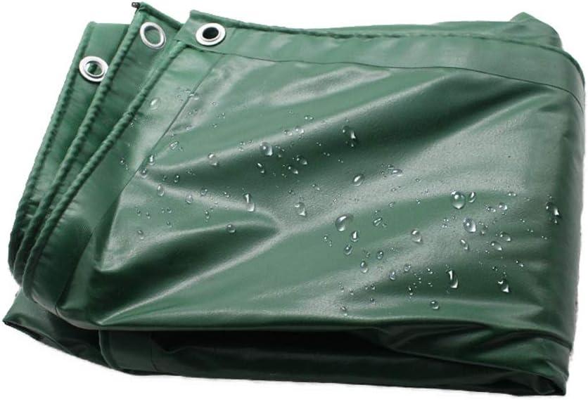 ターポリンPVC肥厚屋外シェード布防風布防水シートオイルクロス M20/02/25 (Size : 5X8M)