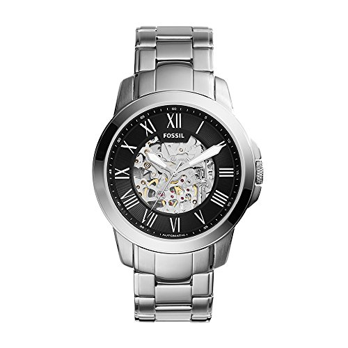 Fossil Mens ME3103 Self Wind Stainless Steel Watch