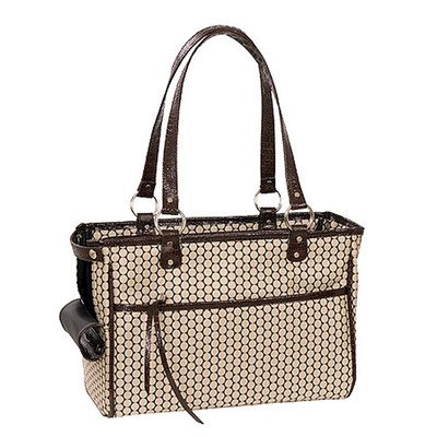 Classic Lucky Pet Carrier in Noir Dots