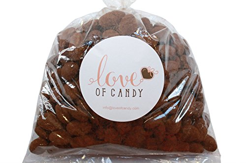 Cocoa Dusted Almonds - Love of Candy Bulk Candy - Cocoa Dusted Almonds - 1lb Bag