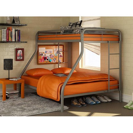 Amazon.com: Twin Over Full Metal Bunk Bed, Multiple Colors ...