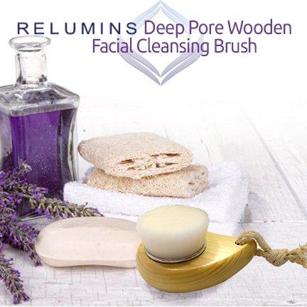 KOJIE SAN FACE & BODY SOAP W/INCLUDED FACIAL BRUSH! 6 Bars of Kojie San Skin Lightening Kojic Acid Soap 65g- and Relumins Deep Pore Facial Cleansing Brush-SUPER VALUE! #1 Skin Whitening Soap! by Kojie San (Image #3)