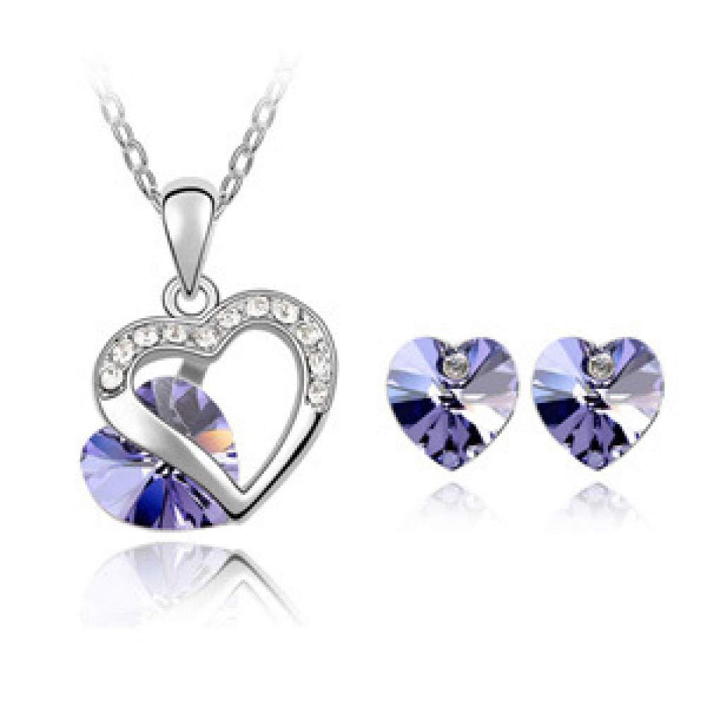 Women Necklace Pendant Elemental Crystal Set Women Jewelry Jewelry MYYQ