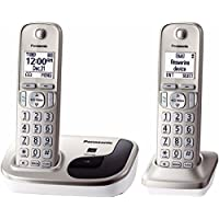 Panasonic Kx-Tgd212N Dect 6.0 Plus 2-Handset Expandable Digital Cordless Phone System