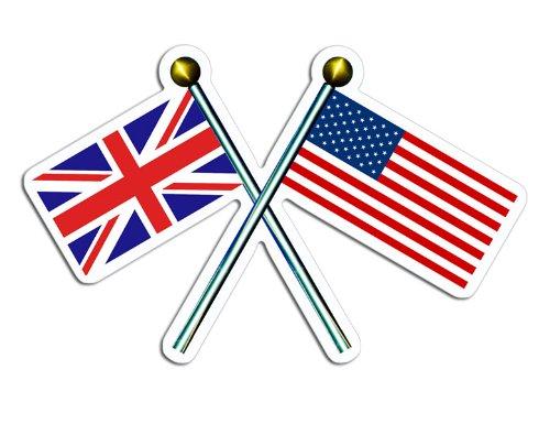 union jack flag stickers - 7