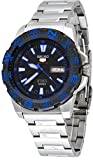 Seiko 5 Sport Automatic Black Dial Stainless Steel Mens Watch SRP543