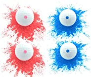 Essential Values Fore Exploding Golf Balls (4 Balls) - Pranking Becomes Fun Again - Perfect Joke for The Entir