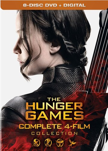 The Hunger Games: Complete 4 Film Collection [DVD + - Box Game Savers