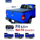 Tyger Auto TG-BC3F1017 Tri-Fold Pickup Tonneau Cover (Fits 04-08 Ford F-150 (NOT Flareside OR 04 F150 Heritage Model); 05-08 Lincoln Mark LT 6.5 feet (78 inch))