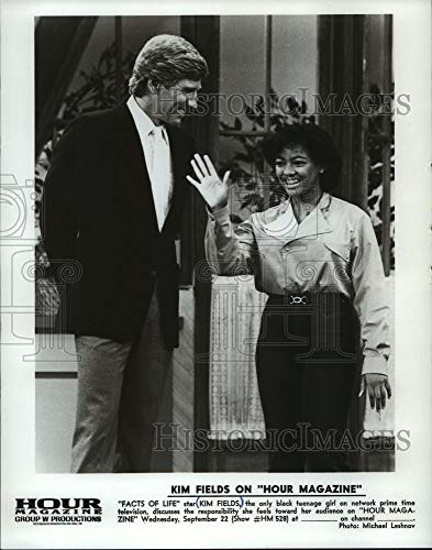 1982 Press Photo Actress Kim Fields to appear on