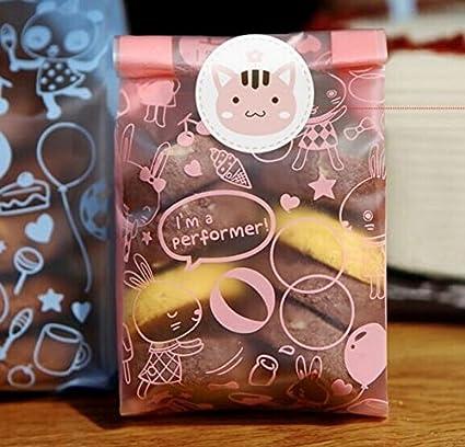 50 bolsas de conejo para galletas, bolsa de dulces, bolsa de ...
