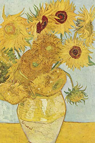 VAN GOGH JOURNAL #13: Cool Artist Gifts - Vincent Van Gogh Notebook Journal To Write In 6x9
