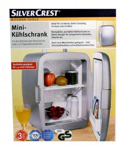 SilverCrest 12V Camping Mini Kühlschrank f. Auto LKW Wohnwagen für 1 ...