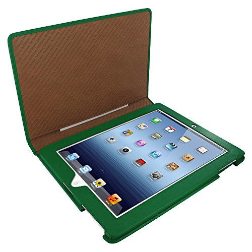 (Piel Frama 531 Green Magnetic Leather Case for Apple iPad 2/3 / 4)