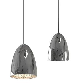 Lámpara de techo colgante con filigrana decorativa de ...
