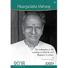 Shri.Nisargadatta Maharaj Wall Calendar 2018