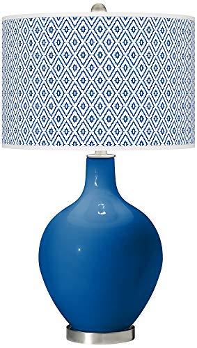 Hyper Blue Diamonds OVO Table Lamp - Color + Plus ()