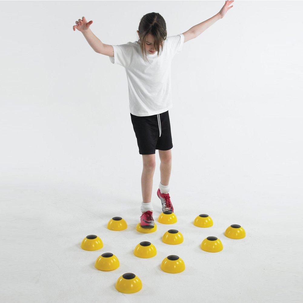 Sportsgear US Kids Fitness Training Balance Stability Half Dome Set of 12