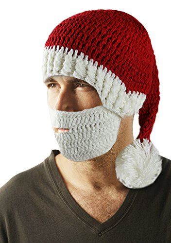 Warm Knitted Beanie Hat Cap Christmas Hat Facial Hair Mask Costume (Costume Ideas For Men With Beards)