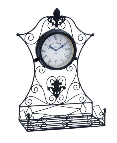 Deco 79 35422 Metal Outdoor Clock, 16 by 23-Inch by Deco 79