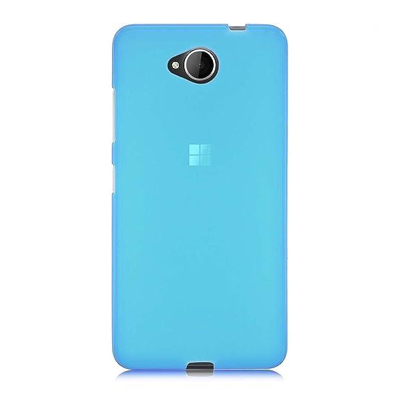 finest selection b14af adf38 Microsoft Lumia 650 Phone Case - TOOGOO(R) Soft TPU Case Cover for  Microsoft Lumia 650, Blue